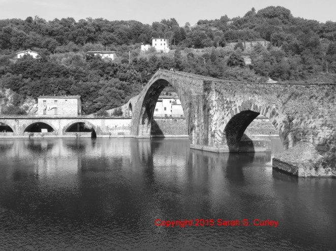 Stone Bridge Black and White I