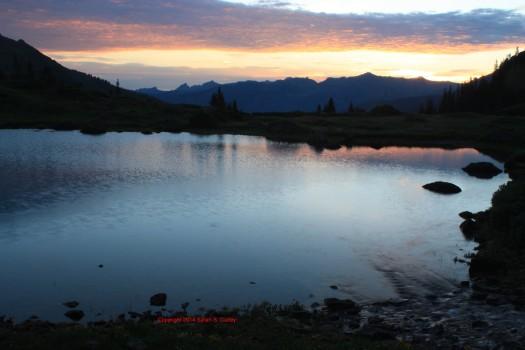 Sunrise Over Lake I